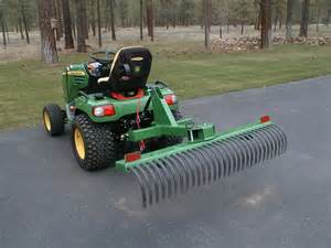 Landscape Rake For Deere 2305 Roy Rector Do It Yourself Tire Change