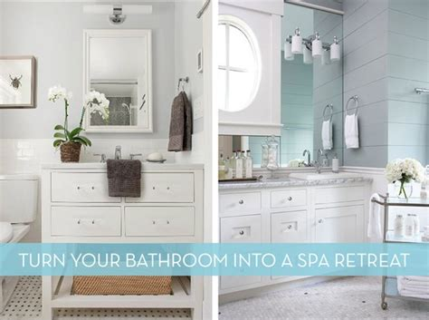 spa like bathroom ideas how to easy ideas to turn your bathroom into a spa like retreat 187 curbly diy