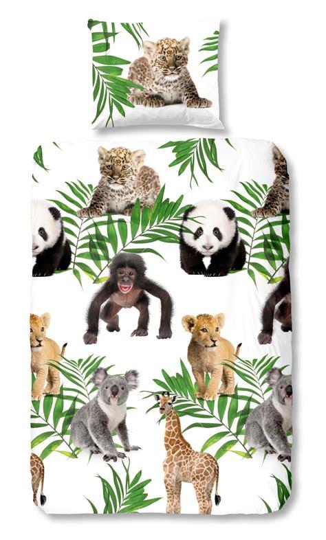 dekbedovertrek ledikant jungle jungle accessoires kinderkamer beste ideen over huis en
