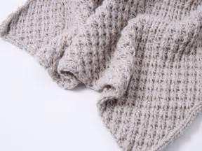 decke stricken muster babydecke mit sternchenmuster selber stricken