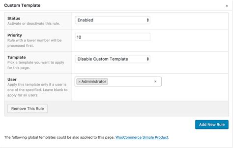custom page templates new way of creating custom
