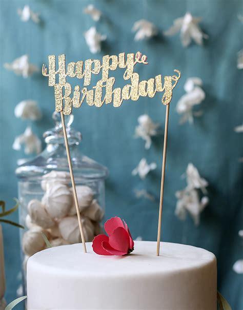 Diy Cake Happy Birthday Cake happy birthday cake topper diy grandhaus creative ideas
