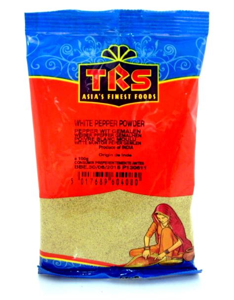 Cooks Whole White Pepper ground white pepper powder by trs buy at the