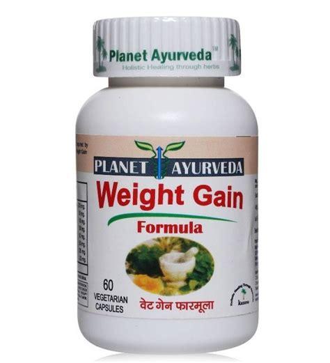 Vitamin Weight Gain Planet Ayurveda Weight Gain Formula 60 Capsules By