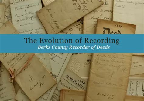 Records Of Deeds Welcome To The Recorder Of Deeds Office