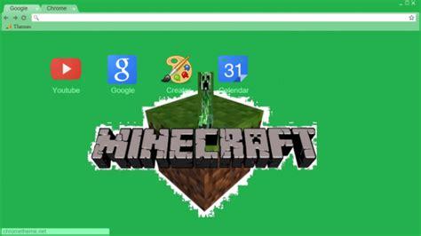 theme chrome minecraft minecraft chrome theme themebeta