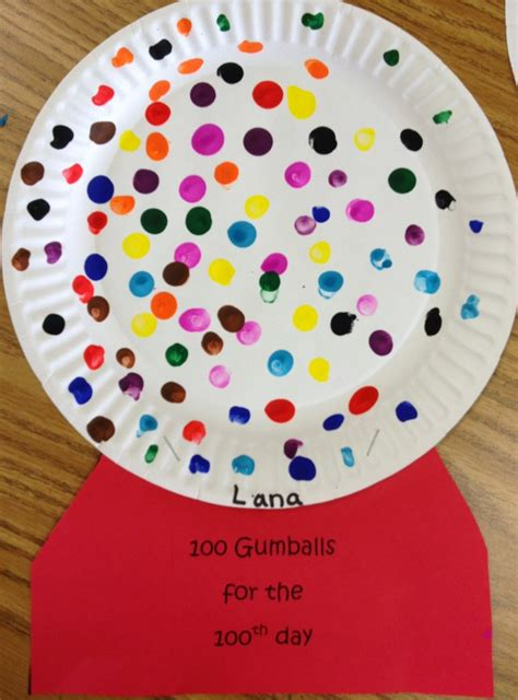 100th day of school crafts colors and kindergarten 100th day of kindergarten