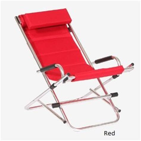 Comfortable Outdoor Folding Chairs by Twofold Bay Reclining Rocking Chair An