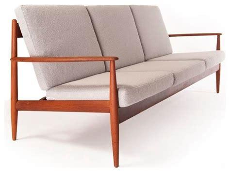 vintage danish modern 3 seat sofa modern furniture