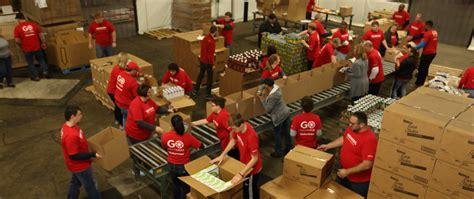 Marysville Ohio Food Pantry by Hondago Volunteers Pack Food Boxes For Seniors Honda In