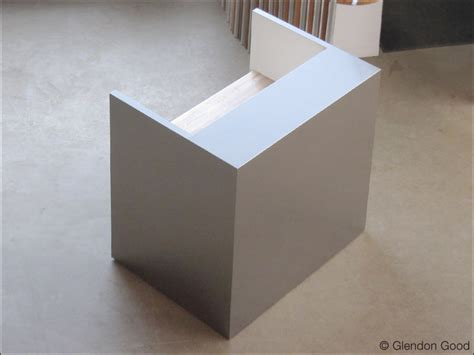 Stainless Steel Reception Desk Stainless Steel Reception Desk Glendon