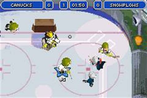 Backyard Hockey Ds by Image Backyard Hockey Gba Gameplay Jpg The Nintendo
