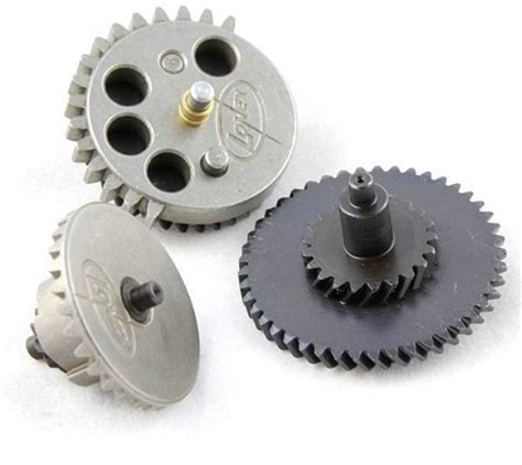 King Arms High Torque Helical Steel Gear Set For V2v3 Aeg lonex airsoft enhanced ultra torque helical upgrade gear set for ver 2 3 6 metal gearbox aegs