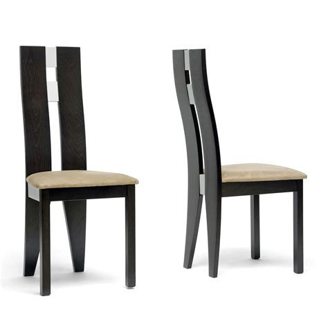 Baxton Studio Dining Chair Baxton Studio Cb 2406ybh 2 Casablanca Dining Chair Set Of 2 Atg Stores