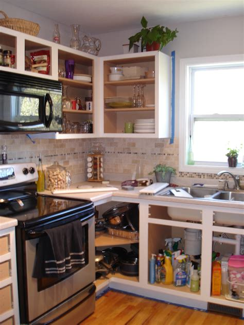decorating kitchen cabinets without doors kitchen cabinet