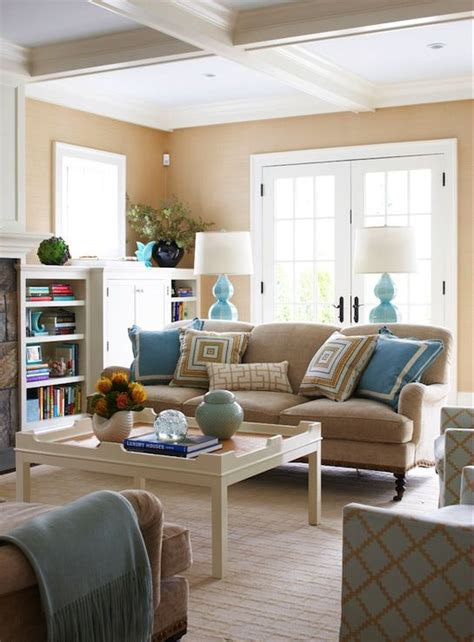 house of turquoise living room beige and aqua new house pinterest living rooms