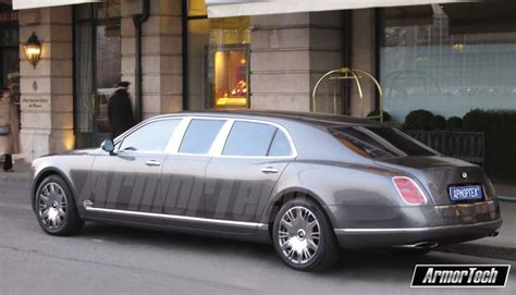 armored bentley bentley mulsanne gets stretched and armored automotorblog