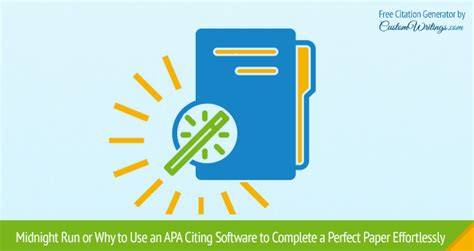 Software Paper Writing Help by Apa Paper Writing Software