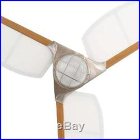 canvas blade ceiling fan 68 in 3 canvas blades outdoor brushed nickel ceiling fan