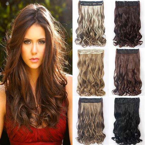 color hair extensions clip in 22 quot 130g curly hairpiece fashion one clip in hair