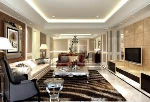 european style living room design with carpet cabinet and
