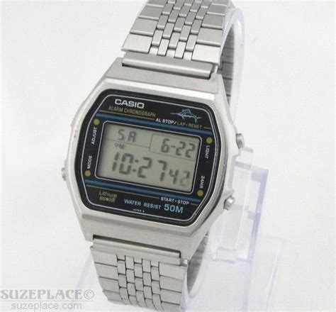 vintage casio marlin w36 1980 s digital alarm chrono