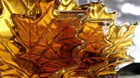 Shelf Of Maple Syrup by Thieves Hit Warehouse Holding 30 Million Of Canadian