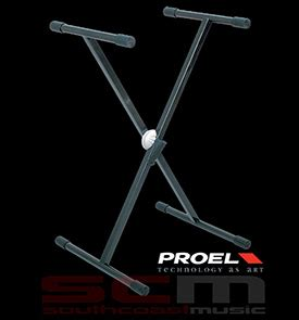 Stand Keyboard Single Proel proel spl series keyboard stand single braced with snap
