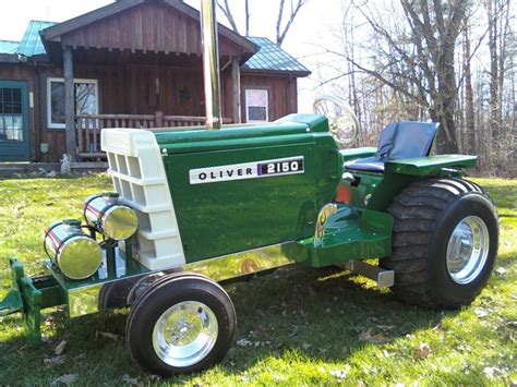 Diesel Garden Tractor by Diesel Garden Tractor Pulling Oliver Quot Not So Ordinary