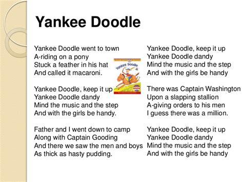 doodlebug song lyrics yankee doodle thinglink