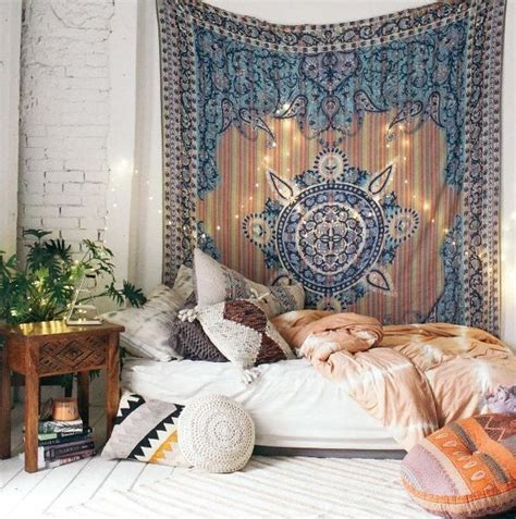 shop bohemian home decor bohemian bedroom shop the style tapestry carved wood