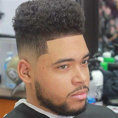 mens afro faded sides long on top hairstyles shades of taper fade hairstyles