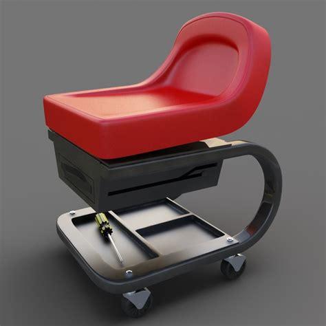 snap on creeper seat obj creeper seat