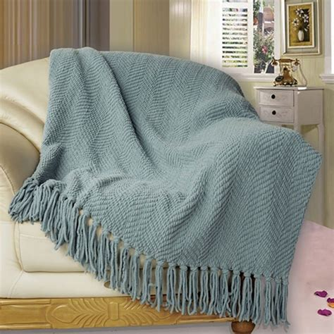 Blanket Throw For Sofa by Bnf Home Knitted Tweed Throw Cover Sofa Blanket