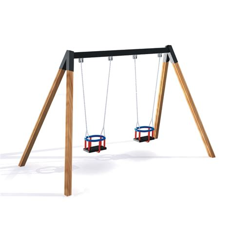 The Double Baby Swing Swings Playground Equipment Lars