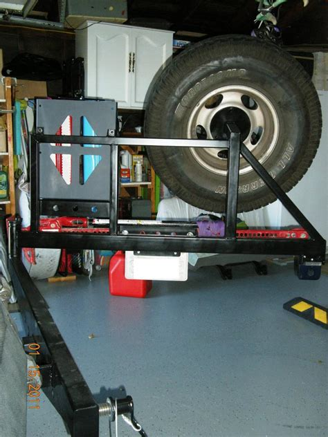 swinging forums swinging tire carrier ford truck enthusiasts forums