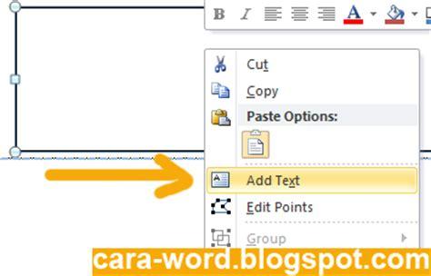 cara membuat kop yayasan cara membuat kop surat di word cara word