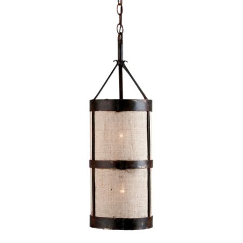 Burlap Pendant Light Handmade Burlap Pendant For Sale Cottage Bungalow