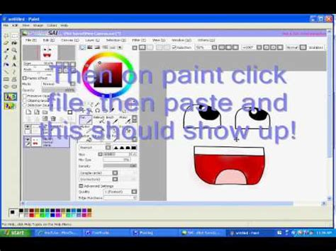 paint tool sai trial how to save a picture on paint tool sai with an expired