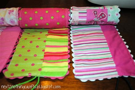 pattern for crayon roll up crayon rolls tutorial sewing for kids pinterest