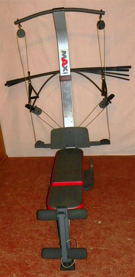 weider max ultra exercise machine