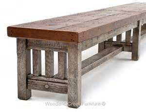 rustic wooden bench barnwood bench reclaimed wood bench rustic wood bench