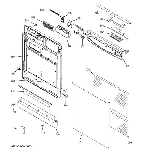 ge dishwasher diagram ge dishwasher parts model edw4060g00ss sears partsdirect