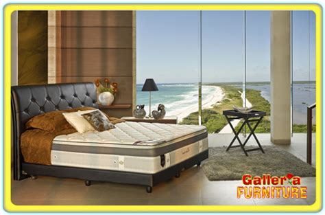 Tempat Tidur Elite Estima harga elite springbed murah toko galleria furniture bandung