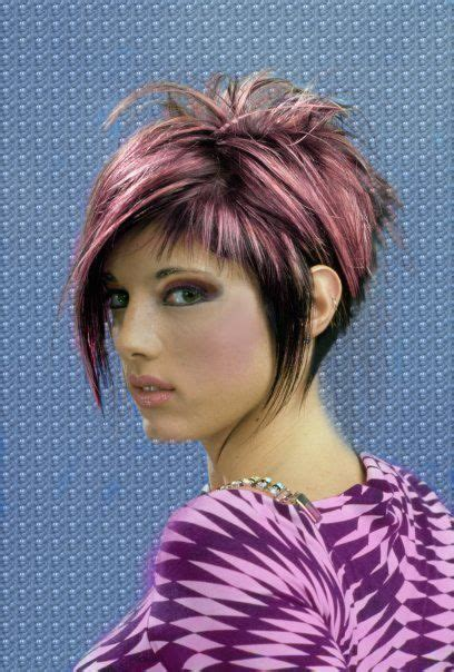 asymetrical ans stacked hairstyles 98 best short hair images on pinterest