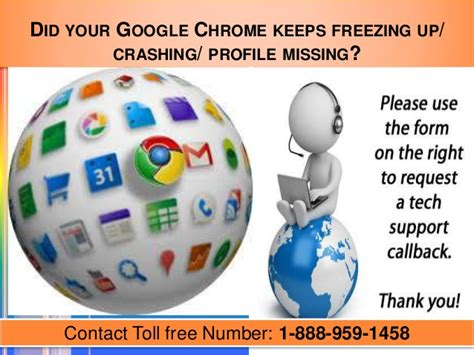 chrome keeps freezing 1 888 959 1458 chrome didn t shut down correctly