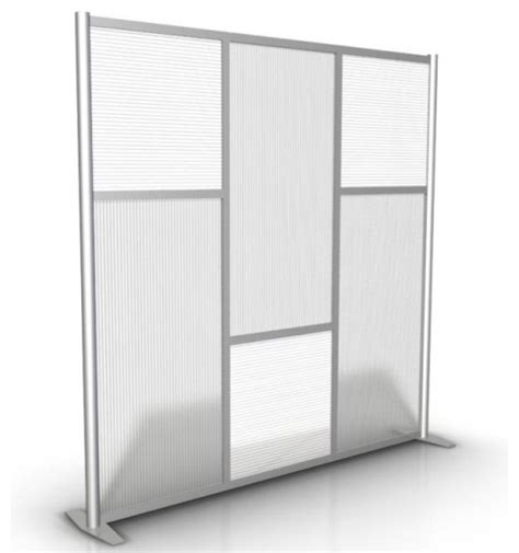 Wall Room Divider 75 Quot Modern Room Divider Contemporary Screens And Room Dividers Philadelphia By Artsyhome
