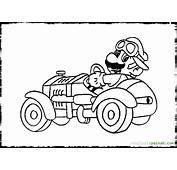 22 Dibujos De Mario Kart Para Colorear  Oh Kids Page 1