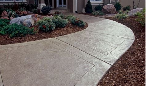 sidewalk design ideas