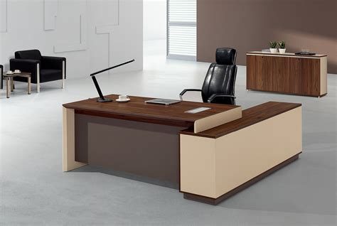 Contemporary Office Desks For Home Modern Executive Table Design For Your Work Area Designwalls